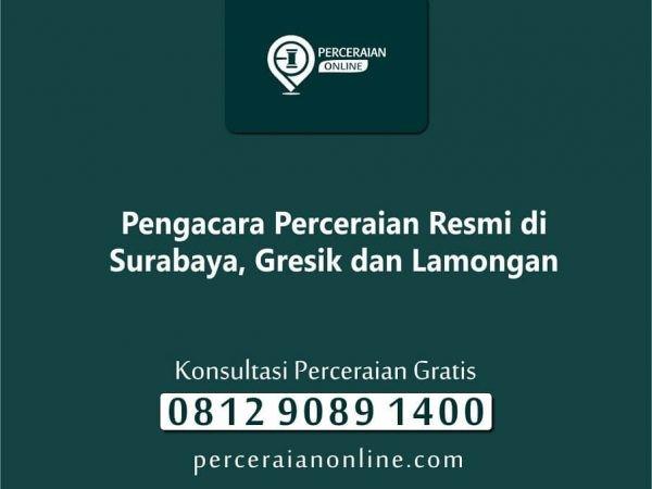 Pengacara Perceraian Resmi di Surabaya, Gresik dan Lamongan